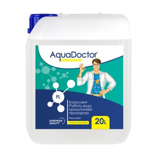 Фото - Средство против мутной воды AquaDoctor FL 20л (жидкий)